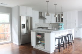 Midcentury contemporary kitchen